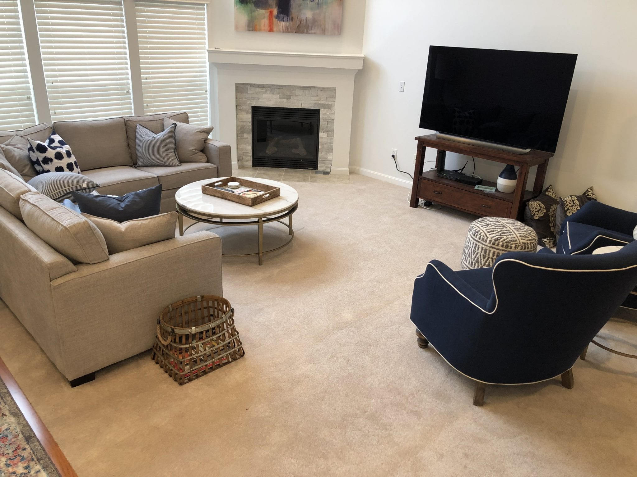 client living room